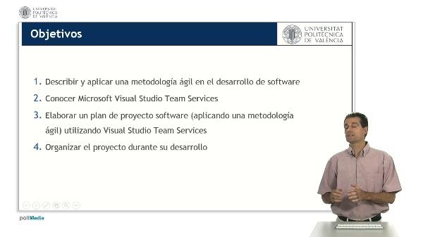 Introducción a Visual Studio Team Services. Aplicación de una metodología ágil.