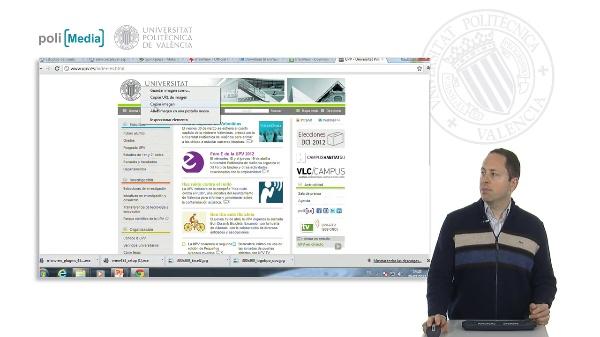 Captura de pantalla y otras imágenes
