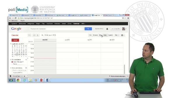 Los calendarios de Google