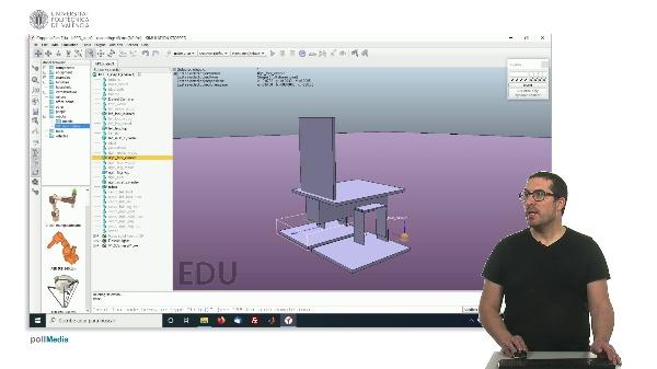 CoppeliaSim (V-REP): Creando robot bPED (Paso 3).