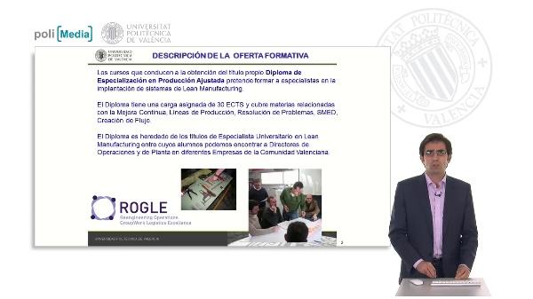 Diploma de Especialización de Producción Ajustada