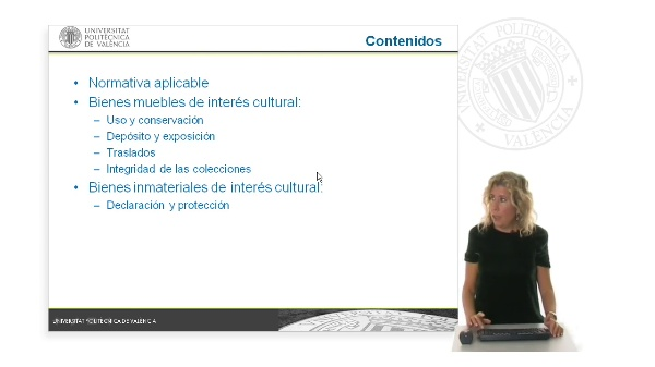 Régimen de los bienes muebles y de los bienes inmateriales de interés cultural en la Ley de Patrimonio Cultural Valenciano
