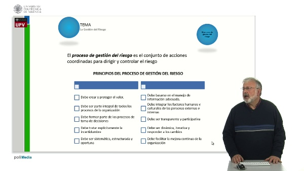 El proceso de gestión del riesgo (I)