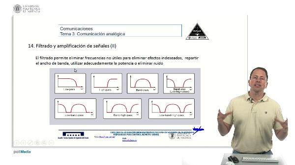 Radiocomunicaciones, filtrado y multiplexado de señales