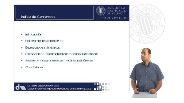 Comportamiento Mecánico Dinámico de Materiales Poliméricos según Modelos de Comportamiento