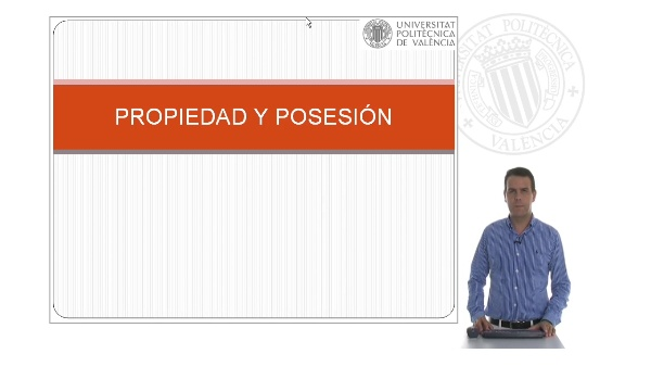 Propiedad y posesión