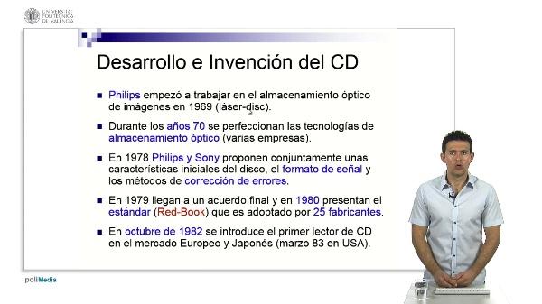 El CD: Características fundamentales