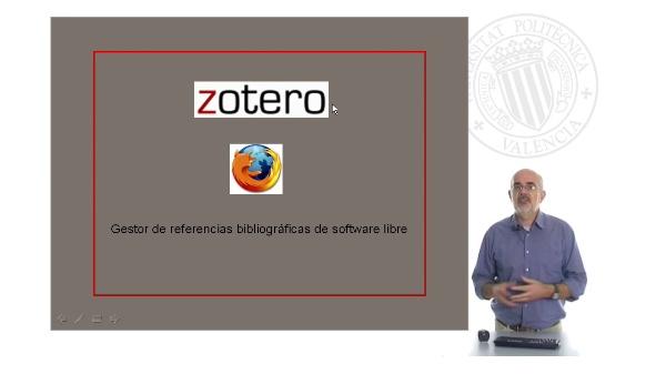 Zotero. Introducción (1/4)
