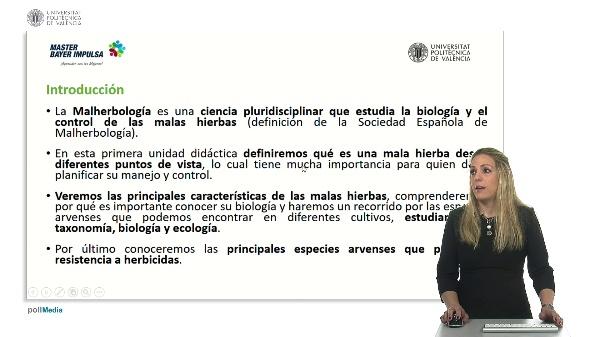 Malherbología. Unidad didáctica 1.