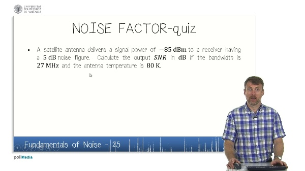 Fundamentals of Noise (VIII)