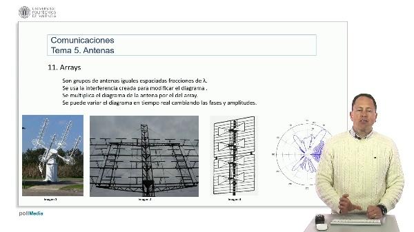 Introducción a las radiocomunicaciones. Arrays de antenas