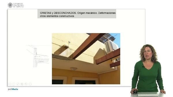 Lesiones en fachadas II / Grietas debidas a causas no estructurales