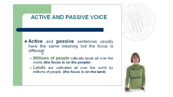 Passive Voice: Part I
