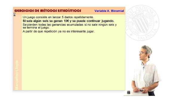 03-V BINOMIAL-06 -Variable aleatoria Binomial