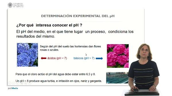 3.3 Determinación experimental del pH