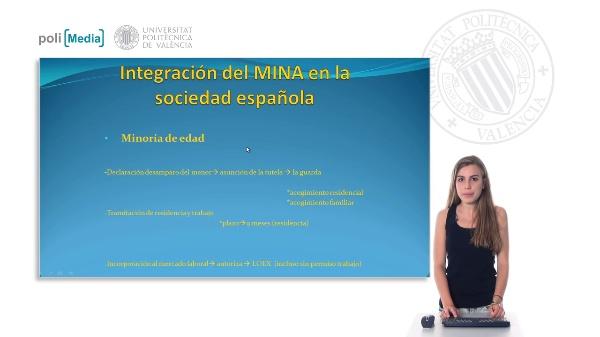 Integración del MINA en la sociedad española