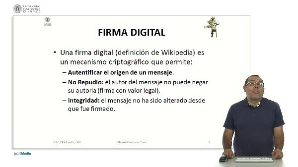Certificados y firmas digitales