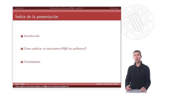 Cómo publicar documentos editados con LaTeX en los contenidos de poliformaT