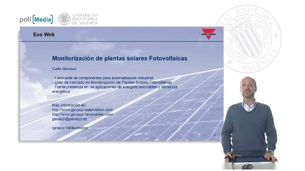Carlo Gavazzi. Eos-Web. Monitorización de la plantas FV