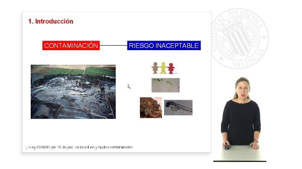 Valoración riesgos contaminación suelos