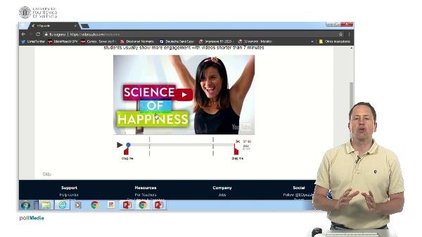 Aplicaciones para crear vídeo lecciones. Edpuzzle.com