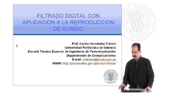Filtrado Digital Aplicado a la Reproducción de Sonido