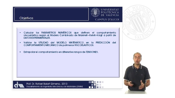 Estimación Parámetros Modelos Avanzados Viscoelasticidad