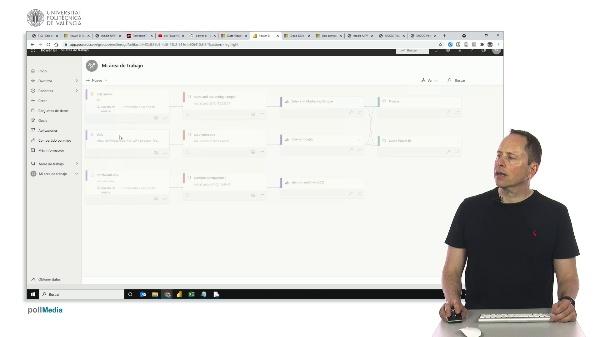 MOOC Power BI. Opciones de configuración de un panel en la nube