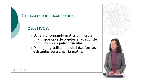 Creación de matrices polares