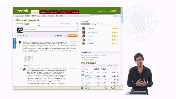 Funcionamiento del simulador de gestión de carteras IMPOK