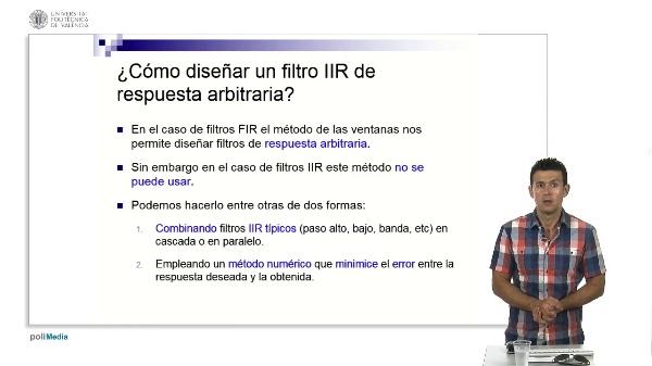 Diseño de filtros IIR de error cuadrático mínimo (método de Yule-Walker)