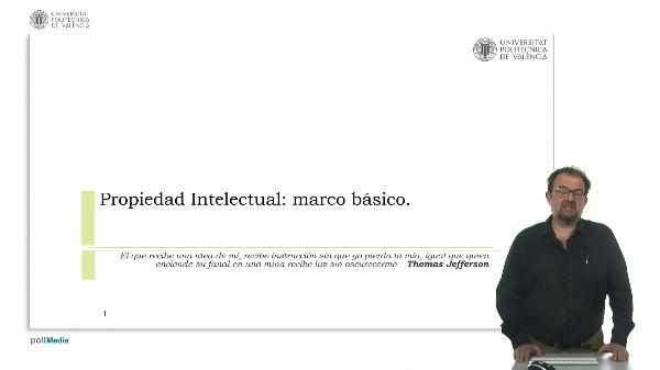 Propiedad intelectual:marco básico