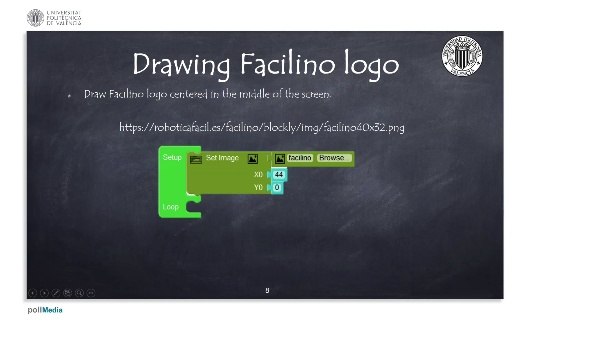 Programming example: Drawing Facilino logo