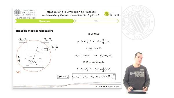Resumen Unidad 3. Introducción a la Simulación de Procesos Ambientales y Químicos con Simulink¿ y Xcos¿