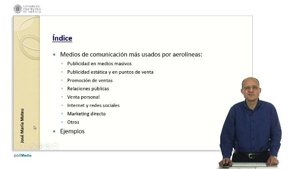 Canales para la comunicación de las aerolíneas