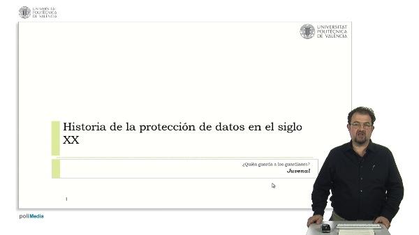 Historia de la protección de datos en el siglo XX