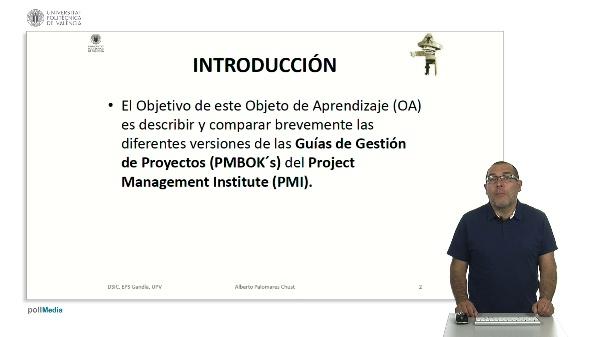 PMBOK'S: Guías de gestión de proyectos del PMI
