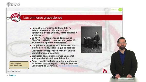 Historia de la Música Electrónica: Las primeras grabaciones