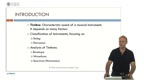 Timbres: String and Percussion Instruments