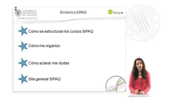 SiPAQ-10: Dinámica de aprendizaje SiPAQ