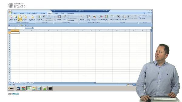 Excel. Importación de datos desde web.