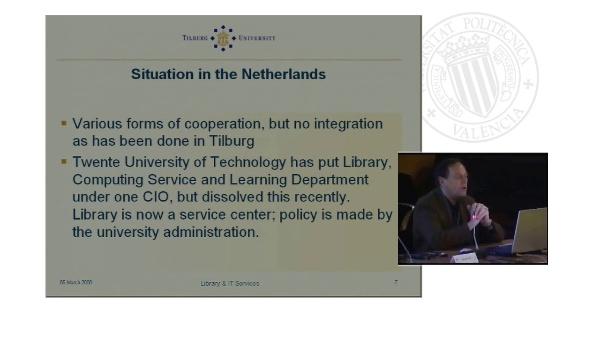 Ponencia 4. Gestión de bibliotecas y servicios TIC