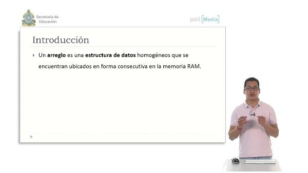 Introducción a las estructuras de datos - Arreglos