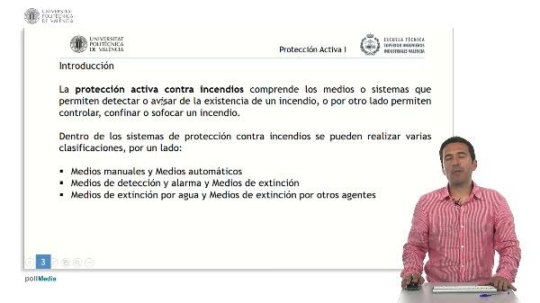 Seguridad contra incendios en establecimientos industriales. Protección Activa I.