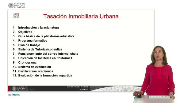 Tasación Inmobiliaria Urbana