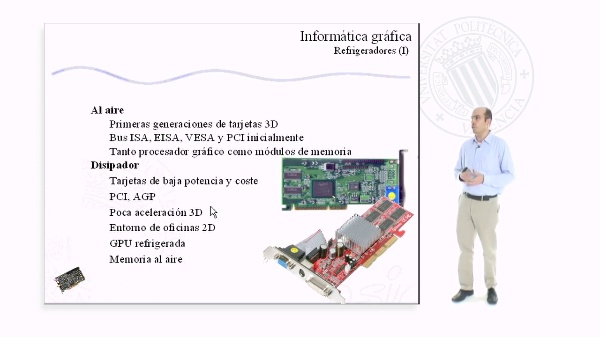 Refrigeradores en las tarjetas gráficas y sistemas multitarjetas
