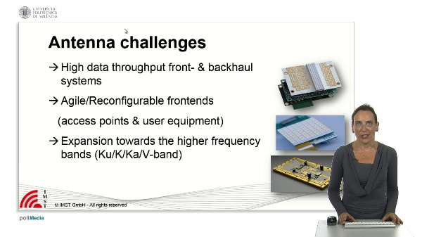 Antenna challenges for mobile communication systems