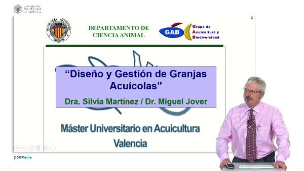 Presentación de la asignatura Diseño y gestión de granjas acuícolas