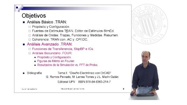 Prontuario de OrCAD. PSpice: Analisis .TRAN (I)