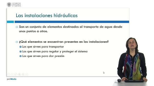 Elementos presentes en las instalaciones hidráulicas